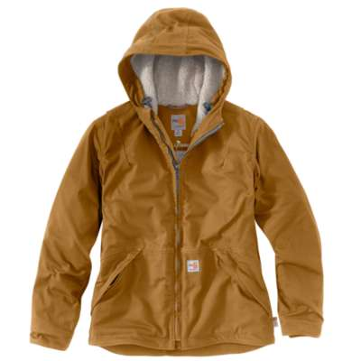 Women's Flame-Resistant Full Swing® Quick Duck® Jacket/Sherpa-Lined