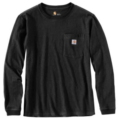 Wk126 Workwear Pocket LS Tshirt