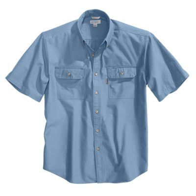 Fort SS Shirt LW Chambray Bfnt